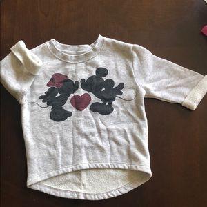 Old Navy Minnie & Mickey Mouse sweatshirt